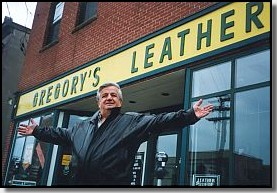 Ottawa Leather Jackets. The Finest Leather Garment Store in Ottawa. Located in the heart of the National Capital Region at Rideau Street. Gregory's Leather is a family owned and operated business specializing in the selling and repair of fine leather wear since